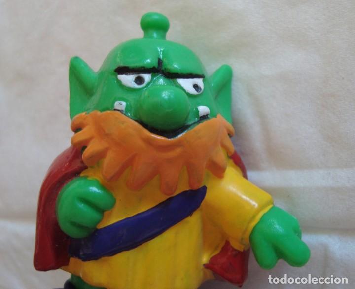 Figuras de Goma y PVC: juguete, muñeco, figura goma o pvc, astrosniks, astrosnik, bully snik 10, pitufo verde - Foto 3 - 209639100