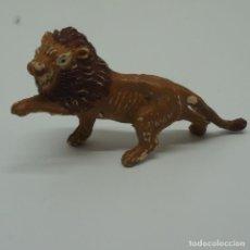 Figuras de Borracha e PVC: LEÓN DE PLÁSTICO DURO DE LAFREDO .. Lote 209659100
