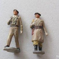 Figuras de Goma y PVC: PECH-PARACAIDISTAS GOMA. Lote 209673035
