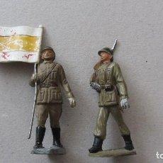 Figuras de Goma y PVC: PECH-INFANTERIA ESPAÑOLA -SE VENDEN SIN BANDERA. Lote 209673158