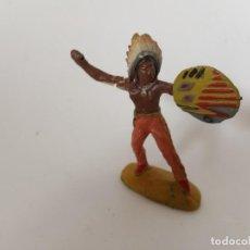 Figuras de Goma y PVC: INDIO MASA LINEOL ELASTOLIN. Lote 209688472