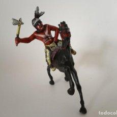 Figuras de Goma y PVC: FIGURAS INDIO XILOPLASTO LANDI. Lote 209688960