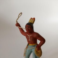 Figuras de Goma y PVC: RARO INDIO MASA LINEOL ELASTOLIN. Lote 209689491