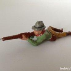 Figuras de Goma y PVC: FIGURA VAQUERO MASA SALPA LANDI. Lote 209689608