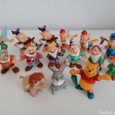 Figuras de Goma y PVC: PRECIOSO LOTE DE FIGURAS DE GOMA PVC DISNEY. MADE IN GERMANY Y PINTADAS A MANO. Lote 209704536