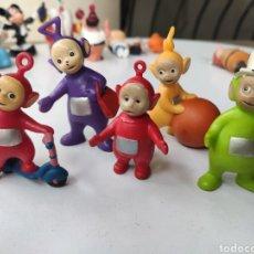 Figuras de Goma y PVC: BONITO LOTE CINCO FIGURAS TELETUBBIES.BUEN ESTADO. Lote 209704850