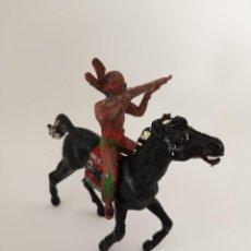 Figuras de Goma y PVC: FIGURA INDIO COMANSI SERIE GRANDE. Lote 209705508