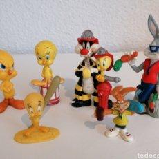 Figuras de Goma y PVC: LOTE DE 6 FIGURAS DE GOMA PVC. WARNER. MADE IN GERMANY. PINTADAS A MANO. Lote 209708840