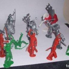 Figuras de Goma y PVC: 1/32 COMANSI PECH REAMSA JECSAN ROBIN HOOD Nº 1 ( MURALLA NO INCLUIDA ). Lote 209717595