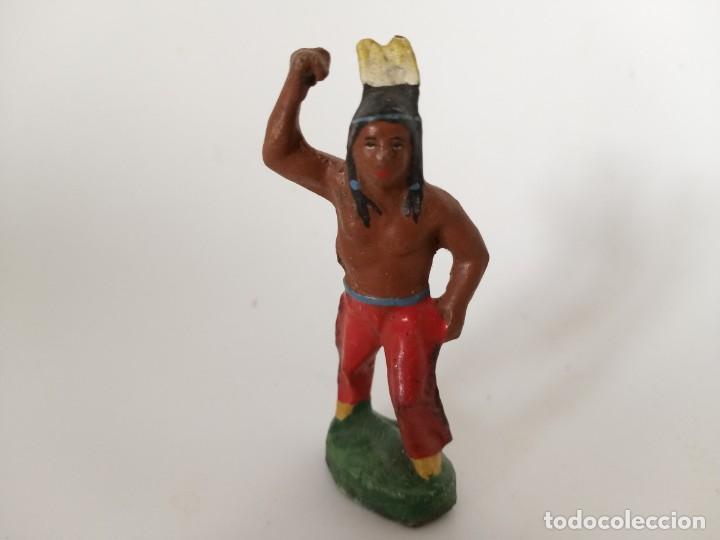 FIGURA RARO INDIO MASA LINEOL (Juguetes - Figuras de Goma y Pvc - Quiralu)