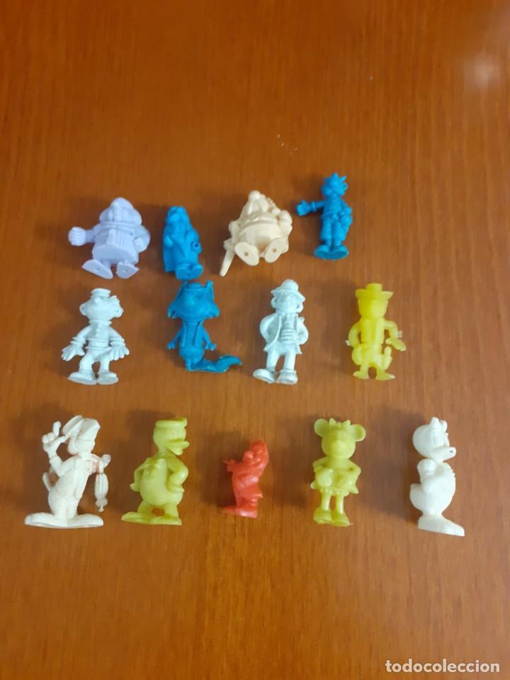 LOTE DE 13 MUÑEQUITOS DUNKIN DE GOMA O PVC (Juguetes - Figuras de Goma y Pvc - Dunkin)