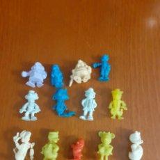 Figuras de Goma y PVC: LOTE DE 13 MUÑEQUITOS DUNKIN DE GOMA O PVC. Lote 209729568
