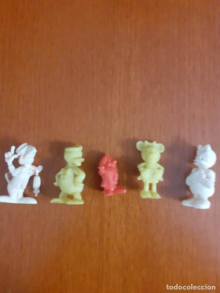Figuras de Goma y PVC: Lote de 13 muñequitos Dunkin de goma o PVC - Foto 4 - 209729568