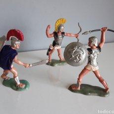 Figuras de Goma y PVC: TROYANOS / GRIEGOS. ANTIGUEDAD, GUERREROS COMPATIBLES CON ROJAS Y MALARET Y GLADIADORES DE LAFREDO.. Lote 209788485