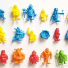 Figuras de Goma y PVC: LOTE FIGURAS ASTERIX Y OBELIX DUNKIN PHOSKITOS UDERZO PVC. Lote 209874183