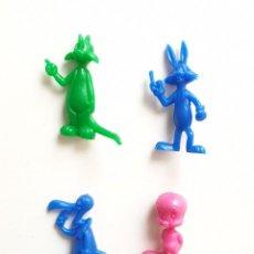 Figuras de Goma y PVC: LOTE FIGURAS WARNER DUNKIN PHOSKITOS UDERZO PVC. Lote 209874903