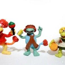 Figuras de Goma y PVC: LOTE 3 ANTIGUAS FIGURAS GOMA PVC COMICS SPAIN 1989 FRAGGLE FRAGGLES FRAGGLE ROCK FRAGUELS. Lote 210001648