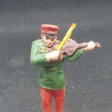 Figuras de Goma y PVC: MÚSICO CIRCO BANDA DE MÚSICA JECSAN AÑOS 60 FANTÁSTICO DE PINTURA. Lote 210046970