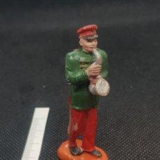 Figuras de Goma y PVC: SAXOFONISTA BANDA DE MÚSICA CIRCO JECSAN AÑOS 60 FANTÁSTICO DE PINTURA. Lote 210048017