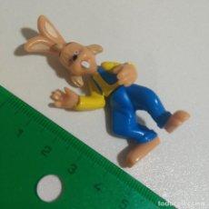 Figuras de Borracha e PVC: KINDER THE MAGIC ROUNDABOUT CARRUSEL MAGICO MINI MUÑECO FIGURA LIEBRE CONEJO. Lote 210051667