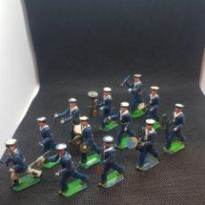 Figuras de Goma y PVC: CONJUNTO DE BANDAS DE MÚSICA DE SOTORRES JECSAN REAMSA AÑOS 60. Lote 210052671