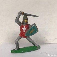 Figuras de Goma y PVC: FIGURA MEDIEVAL CRUZADO CRUZADAS STARLUX NO PECH JECSAN REAMSA. Lote 210069533