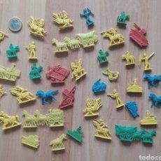 Figuras de Goma y PVC: FIGURAS DE PLÁSTICO ANTIGUAS MONTAPLEX. Lote 210216501