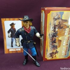 Figuras de Goma y PVC: COMANSI THE WILD WEST LEGENDARY PERSONAGES . GENERAL CUSTER. Lote 210235160