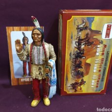 Figuras de Goma y PVC: COMANSI THE WILD WEST LEGENDARY PERSONAGES . SITTING BULL. Lote 210236133