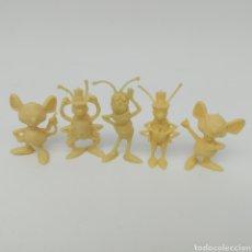 Figuras de Goma y PVC: LOTE DE 5 FIGURAS DUNKIN DE LA SERIE DE DIBUJOS ANIMADOS LA ABEJA MAYA. Lote 210249958