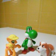 Figuras de Goma y PVC: TRES FIGURAS DE GOMA. Lote 210253770