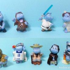 Figurines en Caoutchouc et PVC: FIGURAS FERRERO KINDER SORPRESA - HAPPY HIPPO STAR WARS 1. Lote 210273375