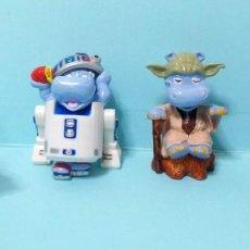 Figuras de Borracha e PVC: FIGURAS FERRERO KINDER SORPRESA - HAPPY HIPPO STAR WARS 3. Lote 265835294