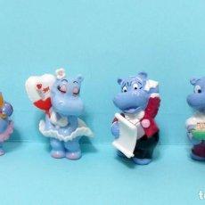 Figuras de Borracha e PVC: FIGURAS FERRERO KINDER SORPRESA - HAPPY HIPPO VARIOS 2. Lote 210273492