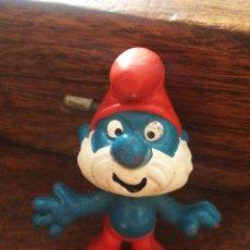 Figuras de Goma y PVC: FIGURA PVC PAPA PITUFO- AÑOS 80'S.. Lote 210287757
