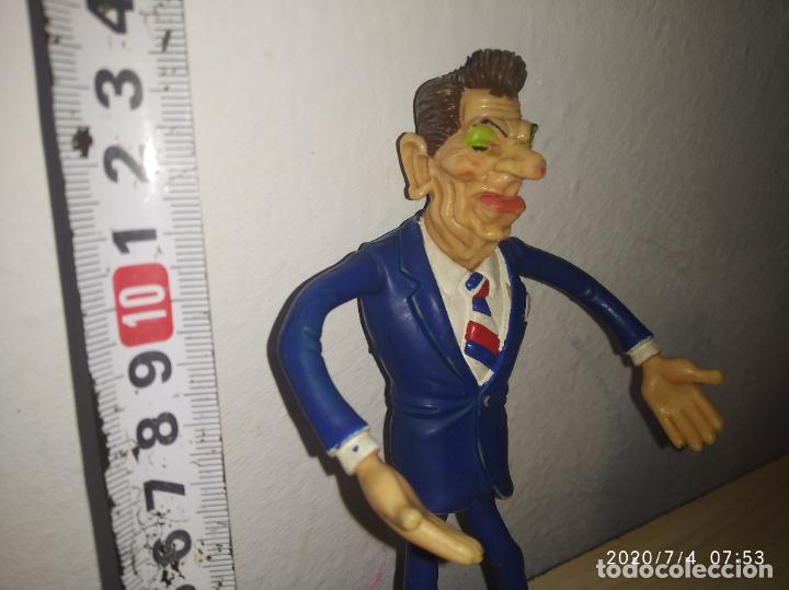 Figuras de Goma y PVC: Muñeco figura Ronal Reagan Comics Spain Spitting Image 1987 - Foto 3 - 210379287