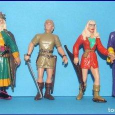 Figuras de Goma y PVC: PRINCIPE VALIENTE LOTE DE 4 FIGURAS PVC COMICS SPAIN 1992. Lote 210404517