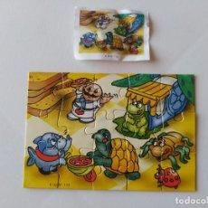 Figuras Kinder: PUZZLE 15 PIEZAS HUEVO KINDER SORPRESA K02/K 02 Nº 110 CON BPZ. Lote 210416936