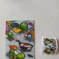 Figuras Kinder: PUZZLE 15 PIEZAS HUEVO KINDER SORPRESA K03/K 03 Nº 109 CON BPZ. Lote 210416993