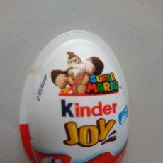Figuras Kinder: ENVASE PLASTICO DE KINDER JOY - SUPER MARIO BROS/NINTENDO - 2020 - DONKEY KONG. Lote 210421175