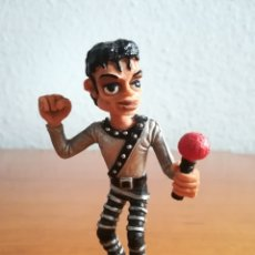 Figuras de Goma y PVC: FIGURA GOMA PVC MICHAEL JACKSON - COMICS SPAIN - MOONWALK THRILLER POP STAR. Lote 210465406