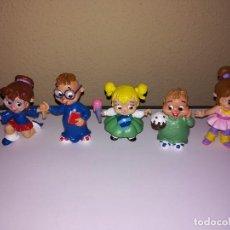 Figuras de Goma y PVC: COMICS SPAIN FIGURAS DE PVC AÑOS 90 SERIE ALVIN LA ARDILA. Lote 210485866