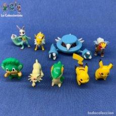 Figuras de Goma y PVC: LOTE 9 FIGURAS DE POKEMON - NINTENDO. Lote 210545661