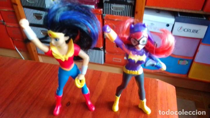 LOTE DE 2 MUÑECOS FIGURAS DE COMIC SUPER HEROES 10 CENTIMETROS (Juguetes - Figuras de Goma y Pvc - Comics Spain)