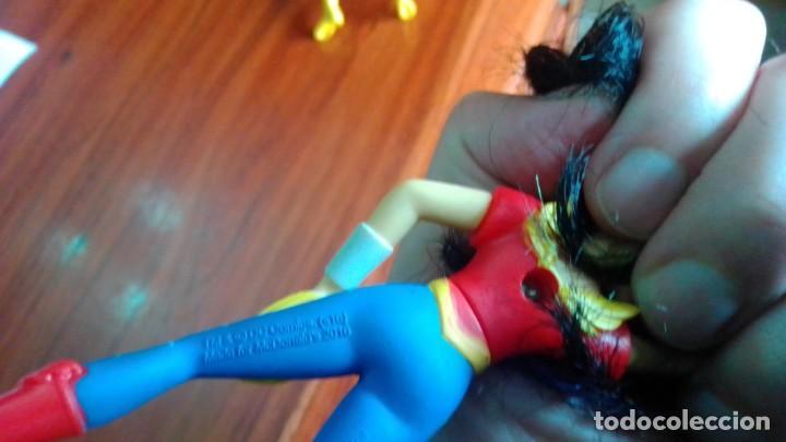 Figuras de Goma y PVC: LOTE DE 2 MUÑECOS FIGURAS DE COMIC SUPER HEROES 10 CENTIMETROS - Foto 4 - 210552100