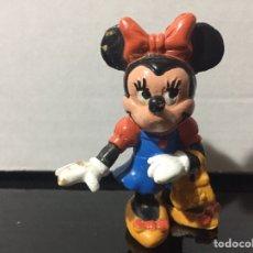 Figuras de Goma y PVC: FIGURA PVC MINNIE MOUSE MICKEY WALT DISNEY AÑOS 80. Lote 210599058