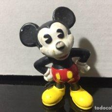 Figuras de Goma y PVC: FIGURA PVC MICKEY MOUSE RARA WALT DISNEY BULLYLAND BULLY 1984. Lote 210603343