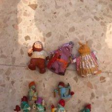 Figuras de Goma y PVC: LOTE DE LOS FRAGGLES GORIS Y CURRIS PVC SCHLEICH. Lote 210618195