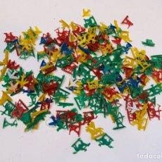 Figuras de Goma y PVC: MONTAPLEX LOTE INDIOS Y VAQUEROS. Lote 210641902