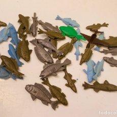 Figuras de Goma y PVC: LOTE PECES MONTAPLEX. Lote 210642351